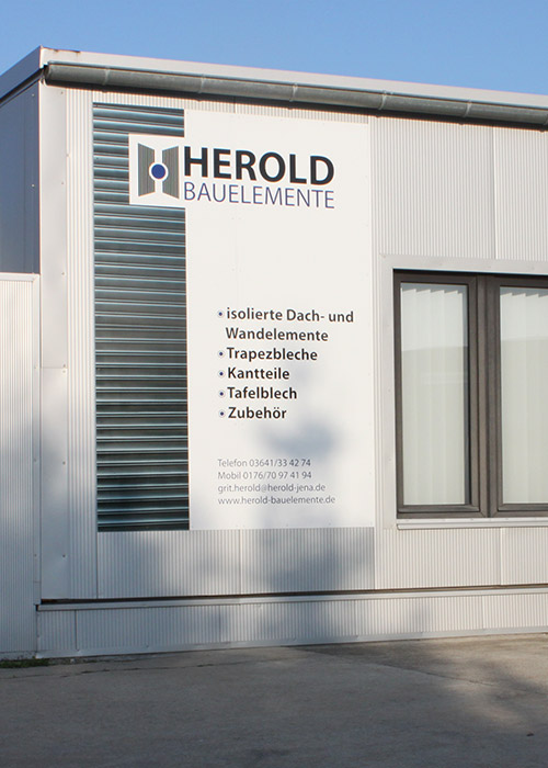 Herold Bauelemente Firmengebäude